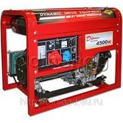 Генератор дизельный 146367 DDG6000E, 5 кВт, 11.5 л, 1.7 л/ч фото