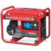 Генератор DDE BG5000, бензиновый, 220 В, ручной стартер, 5 кВт, 71 кг фото