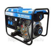Дизельный генератор / электростанция TSS SDG 3000E мощностью 2.8 кВт фото