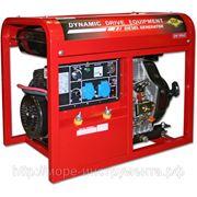 Генератор DDE DDW190AE, сварочный, дизельный, 220 В, электростартер, 180А, электрод - 2 мм/4 мм, 114 кг фото