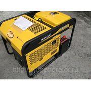 Генератор бензиновый Kipor KGE12EA3 9,5кВт с автозапуском трехфазный фото
