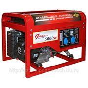 Генератор DDE DPG7551E, бензиновый, 220 В, электростартер, 6 кВт, 83 кг фото