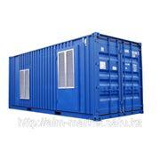 Генератор дизельный ЭД100-Т400-2РН в контейнере фото