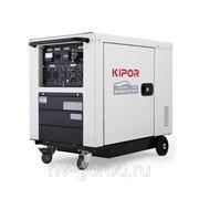 Дизельный инверторный генератор KIPOR ID 6000(5.5кВА 220В 50Гц 21.7А бак 16л) фото