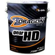 Трансмиссионное масло DRAGON HD 75W90 GL-5 20л фото