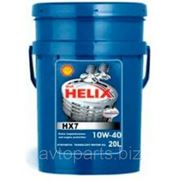 Моторное масло Shell 10W40 Helix HX7 20л фото