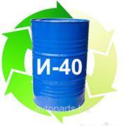 Индустриальное масло И-40 (оборотная тара) 185кг