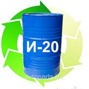 Индустриальное масло И-20 (оборотная тара) 185кг фото