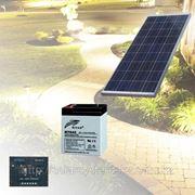 Солнечная энергосистема для уличного фонаря мощностью до 50Вт фото