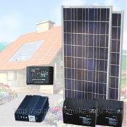 Солнечная энергосистема для поливного насоса мощностью до 200Вт фото