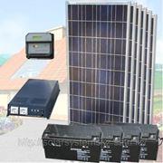"""Солнечная энергосистема для дачи """" Элит"""" фото"""