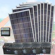 Солнечная электростанция SDC-24V/640W/400Ah фото