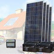 Солнечная энергосистема SDC-24V/500W/300Ah фото
