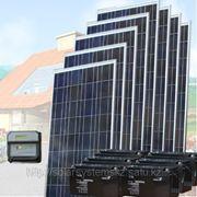 Солнечная энергосистема SDC-24V/1000W/600Ah фото