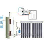 Напорный водонагреватель с выносным баком, сплит - система 250 л.