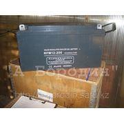 Аккумуляторы гелиевые (Gel) батареи 12V/200Ah фото