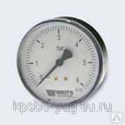 WATTS Ind Манометр MHA80/4(1/4',0-6 бар) фото
