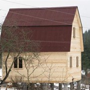 Дом из бруса 4х6 фото