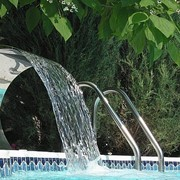 Оборудование и материалы для бассейнов, Водопад для бассейна (шейный гидромассаж)