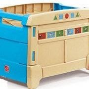 Детский ящик на колесах для игрушек