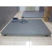Весы платформенные (новинка) 1000*750 до 2 тонн фото