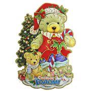 """Новогоднее украшение """"Медвежонок"""" 32*48см 70843 фото"""
