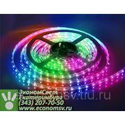 Светодиодная лента Jazzway (гермет.), красный, зеленый, синий цвет, 7,2 Вт/м, 30 LED/м, длина 5м.