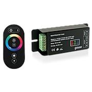 Контроллер для светодиодной ленты RGB 144W 12А С СЕНСОРНЫМ ПУЛЬТОМ УПРАВЛЕНИЯ ЦВЕТОМ (ЦВЕТ ЧЕРНЫЙ) PC201173144 фото