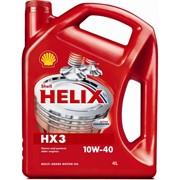 Shell Helix HX3 10W 40 4 литра, Масла моторные в Усть Каменогорске фото