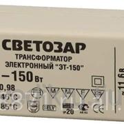 Трансформатор Светозар электронный для галогенных ламп напряжением 12В, 2 входа-3 выхода с двух сторон, 50-150Вт фото