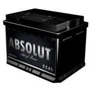 Аккумулятор автомобильный Absolut 6СТ-55 п.п. фото