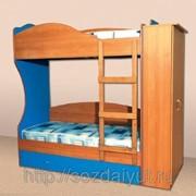 """Двухъярусная кровать """"Командор 2"""""""