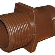 Полимерный изолятор проходной 10 кВ ИПЭЛ 10-076-00 УХЛ2 фото