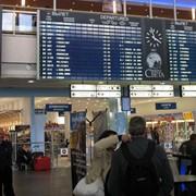 Реклама в аэропорту фото