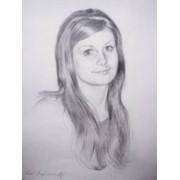 Портрет карандашом   Portrait of a pencil фото