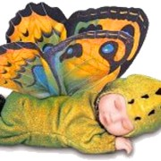 Поздравление с новорожденным бабочками фото