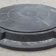 Люк полимерно-песчаный канализационный, 3 тн