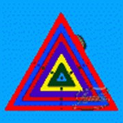 Игра развивающая Радужная паутинка Треугольник фото