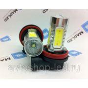 Светодиодная автолампа HB4 7,5W с линзой CREE диодом фото