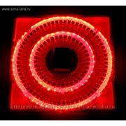 """Гирлянда """"Свечка"""", Silikon белая нить, 5 м, LED-100-240V, с контроллер 8 р, красный фото"""
