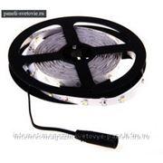 Светодиодная лента SMD3528, 5 м. IP33, 30LED, белый, 2,4W/метр, разъем DC, фото