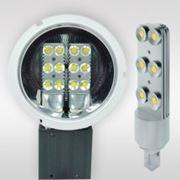 Светодиодные лампы с цоколем G24, E27 6w фото