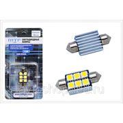 """Светодиодная софитная лампа MTF Light C5W с функцией с """"обманка"""" 36мм фото"""