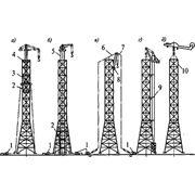 Монтаж башен наращиванием фото