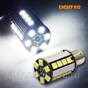 Светодиодная лампа PY21W 26smd с обманкой 5W фото