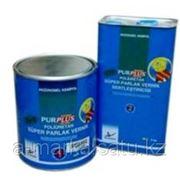 Полиуретановый глянцевый лак 1+1 фото