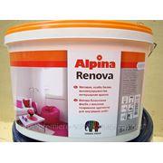 Alpina Renova, для окраски стен и потолков в жилых и административныx помещениях фото