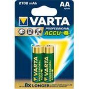 Аккумулятор Varta PROF. ACCU AA 2700mAh BLI 2 NI-MH (05706301402)