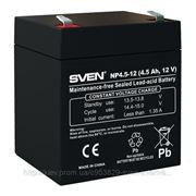 Аккумуляторная батарея SVEN NP4,5-12