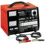 Однофазное переносное профессиональное зарядное устройство TEST 48/2 PROF фото